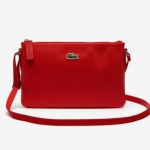 🆕 Lacoste L.12.12 Concept Flat Crossover Bag